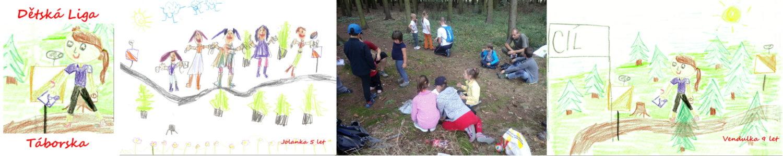 Dětská liga Táborska v orientačním běhu