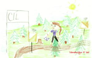 Orientační běh od Vendulky